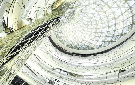 Architectural design with Rhino. Discover the Wanda Shopping Mall | VisualArq. Free-form 2D & 3D architecture modeling tools for Rhinoceros. | Scoop.it