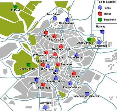 Analysis: Modeling Noise Pollution in the City of Madrid (Spain) | Big Data | Scoop.it