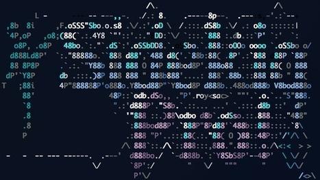 Justin Bean  on Twitter | ASCII Art | Scoop.it