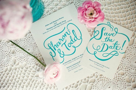 DIY: Comment faire son faire-part soi-même ? {Partie 1}   Le blog organiser un mariage   Future mariée   Scoop.it