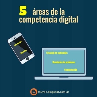 5 áreas de la competencia digital que todo docente debe conocer | TIC para la educación | EduTIC | Scoop.it