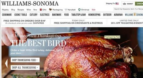Best Holiday Website So Far? Williams-Sonoma [37 top online merchants rated] | Ecom Revolution | Scoop.it