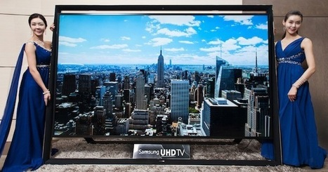 Samsung's 110-inch Ultra HDTV is the world's largest, and it goes ... | IT Security Tips | Scoop.it