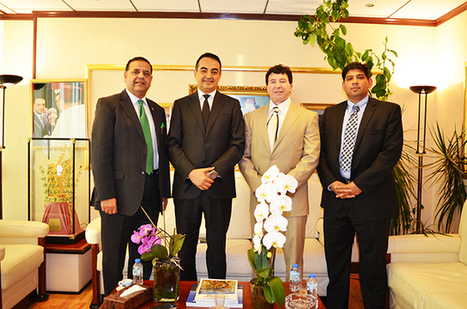 Honorable Lutfi hassan chairman and CEO of APEX Group, Mohamed Dekkak Chairman and Founder of Adgeco Group, Patrick Spearman CEO of CoAg and Amir R. Ahmed MD CoAg | Adgeco Group of Companies | Scoop.it