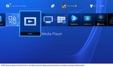 PlayStation 4 : on peut enfin lire des MKV, des MP3 et du H.264 | 100% e-Media | Scoop.it
