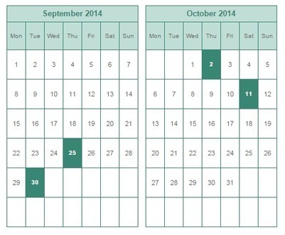 How To Add a Calendar inside Blogger Posts   Just Like Geek's Tech Journal   DD's Blog   Scoop.it