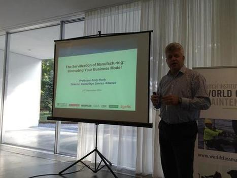 """Henk Akkermans on Twitter: """"Who could explain it better? @AndyNeely on #Servitization at the #SOMF2014 at #TilburgU for #WCM http://t.co/I7Zx6u1pBf"""" 