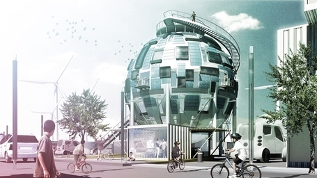 PINKCLOUD.DK » THE OIL SILO HOME | The city of tomorrow | Scoop.it