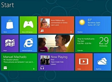 Η Microsoft σταματάει την υποστήριξη των Windows 8 | apps for libraries | Scoop.it