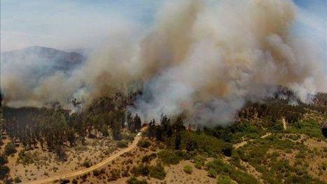 Chili - Incendie de forêt près de Valparaiso | ... | Francisco Muzard Ureta | Scoop.it