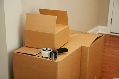 7 Tips For Moving With Less Stress (PHOTOS) - Huffington Post   Organizing and Downsizing a home   Scoop.it