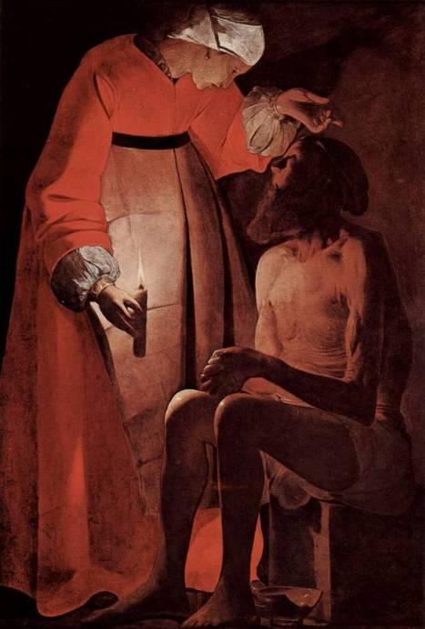 #078 ❘ Georges de La Tour  (1593-1652)   # HISTOIRE DES ARTS - UN JOUR, UNE OEUVRE - 2013   Scoop.it