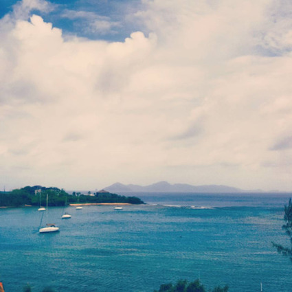 Broken Boat Stuff : Cloudy sky over Bequia, from St Vincent | Bequia - All the Best! | Scoop.it