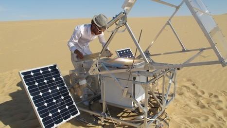 Fabriquer du verre à partir de sable avec une imprimante 3D solaire | Open Hardware | Scoop.it