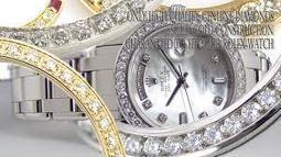 rolex ladies diamond dial | rolex diamond bezels | Scoop.it