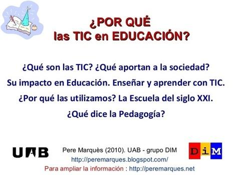 ¿Por qué TIC en Educación? | Little Kings | Escuela 2.0 y Mochila digital | Scoop.it