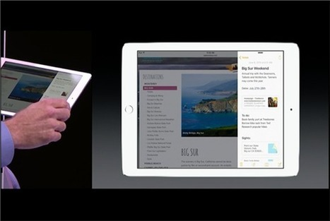 iOS 9's major iPad upgrades include multitasking and picture-in ... - Macworld | Teaching and learning with iPads | Scoop.it
