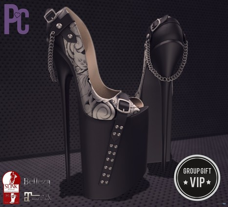 Agnes Heels VIP Group Gift by Pacagaia Creations | Teleport Hub - Second Life Freebies | Second Life Freebies | Scoop.it