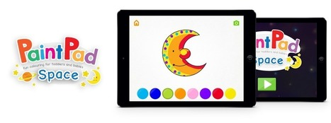 PaintPad Space Fun Colouring for Toddlers and Babies | Educational Mobile Learning Games for iPad | Edtech PK-12 | Scoop.it