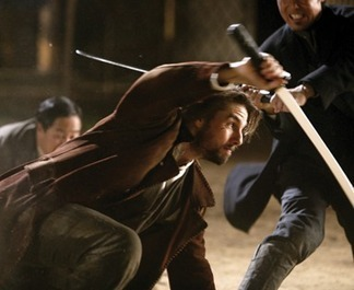 "Tom Cruise in ""The Last Samurai"" Action Movie 