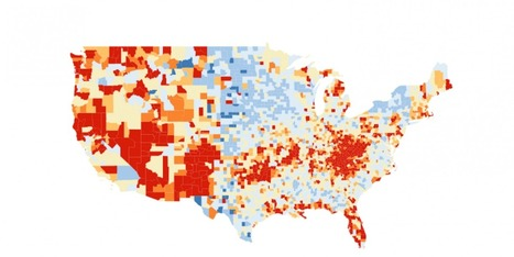 How to build an interactive county level map like the New York Times - Storybench   Parlons Data !   Scoop.it