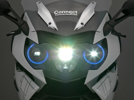 BMW shows motorcycle helmet head-up display and laser light concepts | Smart devices and technology solutions | Scoop.it