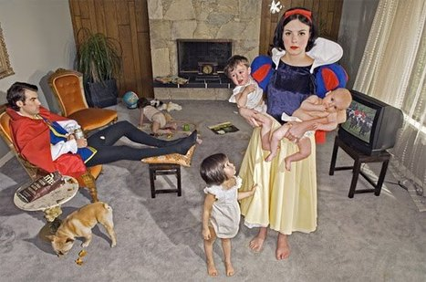 Modern Day Fairy Tales: Fallen Princesses by Dina Goldstein | Progressive Storytelling | Scoop.it