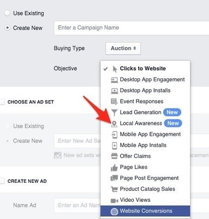 How to Use Facebook Local Awareness Ads to Target Customers | Facebook for Business Marketing | Scoop.it