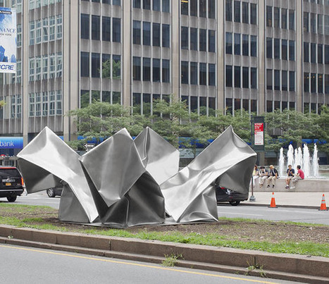 Ewerdt Hilgemann:  'Cube Flower' | Art Installations, Sculpture, Contemporary Art | Scoop.it