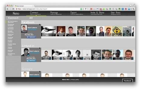 Nettoyer et organiser ses contacts avec Neiio | Les Outils - Inspiration | Scoop.it