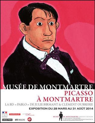 Lot de 2 places pour l'exposition Picasso à Montmartre au Musée de Montmartre - Boutique exponaute   Coups de coeur !   Scoop.it