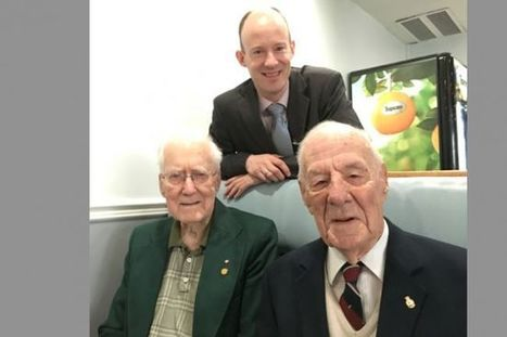 72 years later in Yarmouth: Second World War vets relive U-boat attack | World at War | Scoop.it