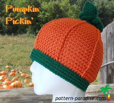 FREE Crochet Pattern - Pumpkin Pickin' - Pattern Paradise | FREE Crochet Patterns | Scoop.it