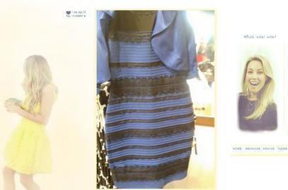 ¿Azul y encaje negro o blanco con dorado? Un vestido desata la guerra en Internet | Todo Biología | Scoop.it