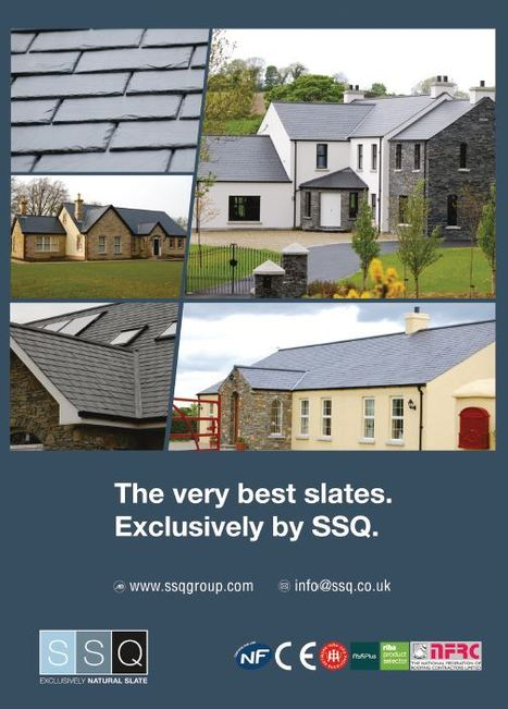 One page advert in Modern Builder | SSQ Exclusive Natural Slate | Scoop.it