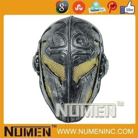 Handicraft Templar Knights Airsoft Metal Mesh Mask | Airsoft Paintball Mask | Scoop.it