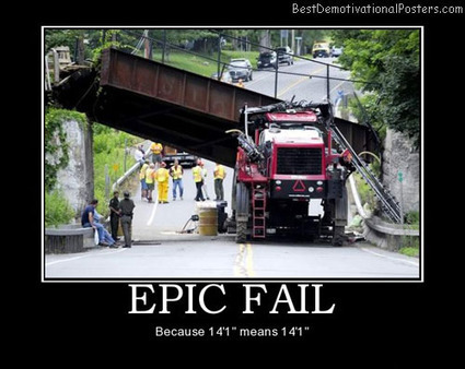 Epic Fail – Because 14 means 14 | Direct Accident | Scoop.it