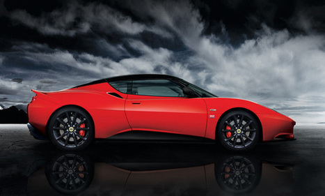 Lotus Evora Sports Racer: primera imagen oficial - Autobild.es | DreamerOnWheels | Scoop.it