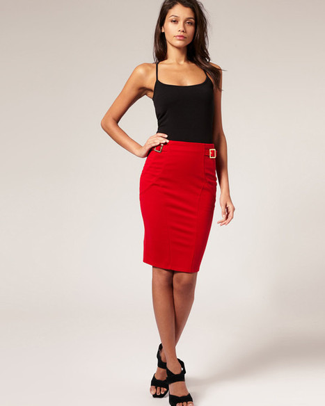 Top 10 Red Pencil Skirt Outfit, Cheap Red Skirt - 2015 | Health & Fashion | Scoop.it