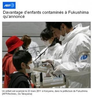 Fukushima : combien d'enfants contaminés ? | Corinne LEPAGE | Scoop.it