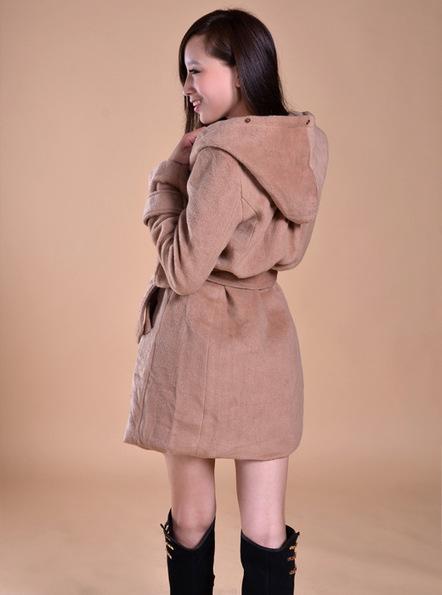 Cheap long sleeve warm large woolen trench jacket for women in women outcoat from women clothing on sightface.com | Cheap women Clothing Online at Sightface | Scoop.it