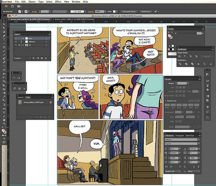 Graphic Novels: The Tools of the Trade | Inside A Dog | Read Read Read | Scoop.it