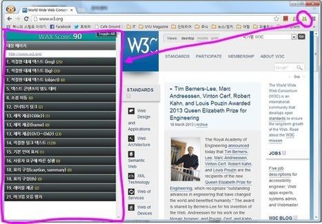 웹접근성 진단 도구 - Open WAX, N-WAX, Web Accessibility Toolbar | @wonil07lee Interests | Scoop.it
