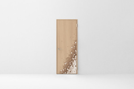 Seven Doors by nendo for Abe Kogyo   #Design   Scoop.it
