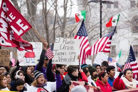 14,000 protesters just showed Wisconsin what a day without Latinos is like | Community Village Daily | Scoop.it