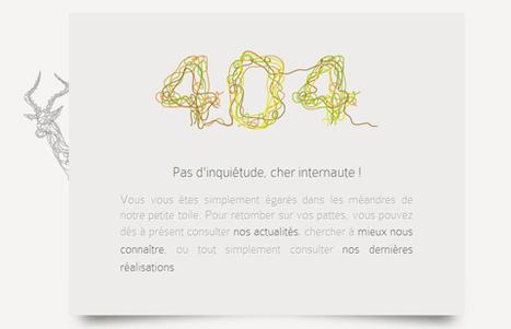 Le top 20 des pages 404 les plus originales | creation de sites web | Scoop.it