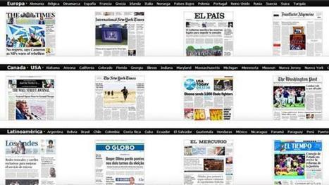 Un kiosco con todos los diarios del mundo, a un click de tu netbook   Conectar Igualdad   Conectar Igualdad   Scoop.it
