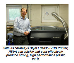 Shipping & Marine Supplier, HSVA, Enjoys Reduction In Lead Times Of 70% And Decrease In Costs Of 30% With Stratasys Additive Manufacturing (NASDAQ:SSYS) | Plastic Prototyping | Scoop.it