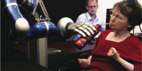 Une femme paralysée commande un bras robotisé par la pensée | omnia mea mecum fero | Scoop.it
