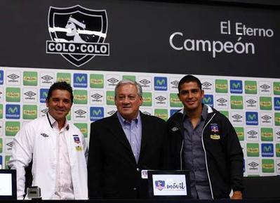 Héctor Tapia fue presentado como director técnico de Colo Colo | Fútbol, Pasión de multitudes! | Scoop.it